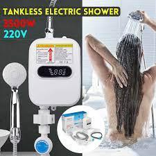 3500W 220V elektrikli SU ISITICI banyo mutfak anında sıcak SU ISITICI –  Grandado.com TUR