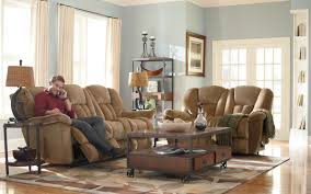 Wicker Living Room Sets Living Room Lavish Living Room Idea With Soft Brown Sofas As Lazy