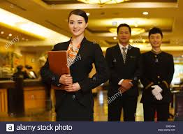 Hotel Manager Asian Hotel Manager 40s Stock Photos Asian Hotel Manager