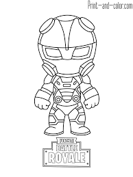 Fortnite Battle Royale Coloring Page Carbide Racing