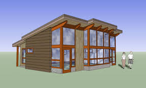 engaging modern post and beam home plans 15 fabcab 848 rendering 1 garage endearing modern post and beam home plans