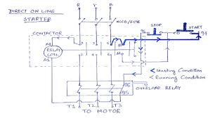 Motor Overload Protection Chart What Is Direct Online Starter Dol Working Principle