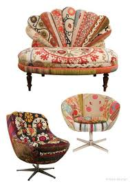 cool funky furniture. vintage mod chairs with fabrics from around the world bohemian chic various by funky chairscool cool furniture