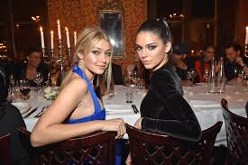 Gigi hadid, kendall jenner & bella hadid at the victoria's secret 2018track: Kendall Jenner And Gigi Hadid Are Actually Related Sort Of