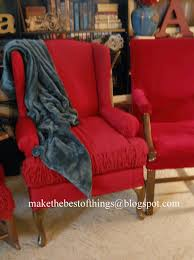 Red And Turquoise Living Room Make The Best Of Things Diy Chair Rescue With A 4 Sheet