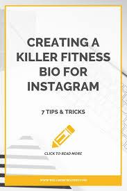 fitness bio for insram new