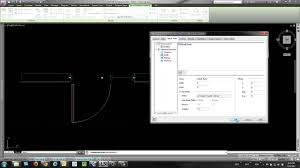 autocad architecture aca door window assembly edit frame depth