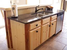 rustic pine kitchen cabinets