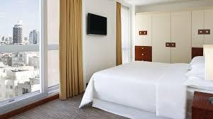 On Suite Bedroom Rooms Suites Sheraton Tel Aviv Hotel