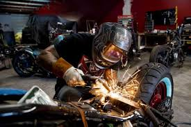 motorcycle customizer rides high
