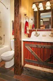 Rustic Western Bathroom Ideas