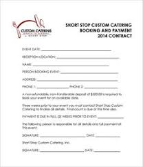 Catering Invoice Template 9 | Catering Invoice Templates | Pinterest ...