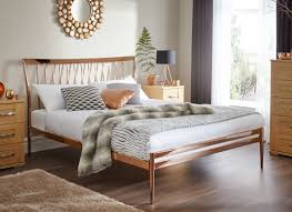 Small Double Bedroom Blake Copper Metal Bed Frame Dreams