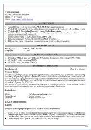 Sap Abap Sample Resume 3 Years Experience Igniteresumes Com