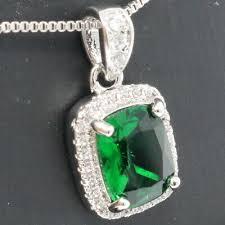 gorgeous 2 ct emerald cut green emerald