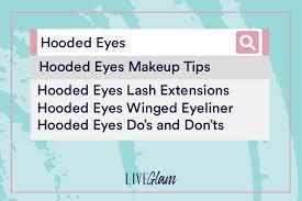 makeup tips for hooded eyes liveglam