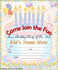 Free Online Invites Templates Editable Free Birthday Invitation Templates In 2019