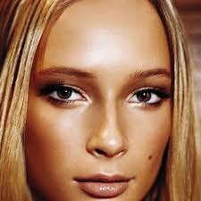 the first trick to using bronzer choose powder and be sure the shade is more golden