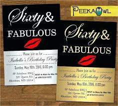 Funny 60th Birthday Party Invitations Designs Invitation Wording