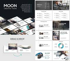 Cool Power Points Moon Cool Powerpoint Template With Creative Slides Best