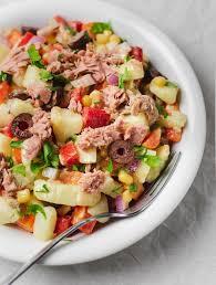 healthy potato tuna salad no mayo