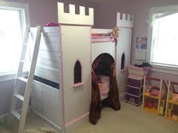 image of princess bunk bed design