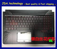 Asus Fx504 Keyboard Light Wellendorff 96 New Org Plamrest Top Case For Asus Tuf Gaming