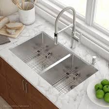 Porcelain Undermount Kitchen Sink White With Kohler Kitchen Table