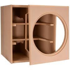 Knock-Down MDF 4.0 ft Subwoofer Cabinet for Da
