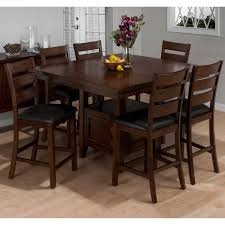 bar height dining table room design