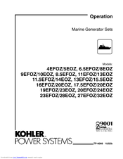 kohler 5eoz manuals kohler 5eoz operation