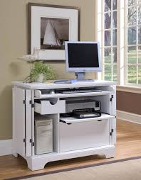 Compact Computer Desk With Shelves Gallery Including Hideaway  Throughout  Compact Computer Desk (View 7