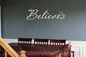 on adhesive wall art letters with believe wall art wall decal stickers christian vinyl wall letters