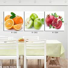 modern print oil painting kitchen fruit wall decor canvas