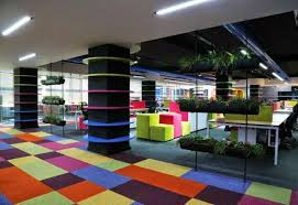 creative office decorating ideas. Creative And Crazy Office Decoration Furniture | Modern Design Ideas Rainbow Color Table Decorating S