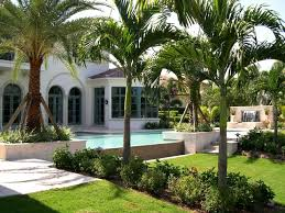 model home in old palm palm beach gardens florida tropical pool