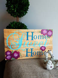 reclaimed pallet sign rustic decor family room decor shabby chic vintage flowers home sweet home pallet on pallet wall art shabby chic with entryway sign pallet wood sign home sweet home rustic farmhouse