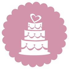 Wedding Cake Icon Angelyn Cakes