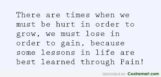 Pain Quotes And Sayings Images Pictures CoolNSmart Unique Pain And Life Quotes