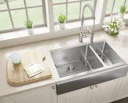 407l Offset Apron Sink