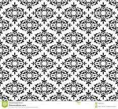 black and white floral wallpaper pattern. Modren And Download Black And White Seamless Floral Wallpaper Stock Vector   Illustration Of Elements Background Pattern B