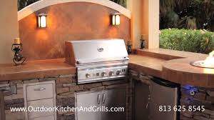 custom outdoor kitchen in st pete fl clearwater florida with grill bbq