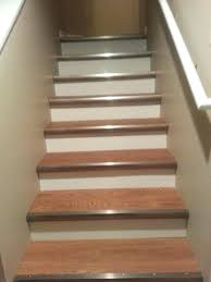 how to install vinyl plank flooring on stairs vinyl flooring on stairs photo 6 of 7