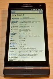 Sony Xperia S — Википедия