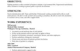 General Resume Objective Examples Objective Samplesor Resumes Resume Beautiful Sample Preschool 25
