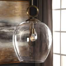 calix glass pendant 16d chandelier