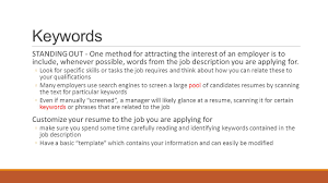Technical Writing Job Application Important Points And Tips Ppt