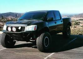 Nissan Titan prerunner perfect base for a desert truck