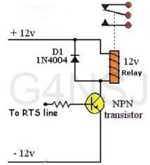 g4nsj data modes psk31 rtty mfsk throb fsk fsk31 heil interface relay circuit