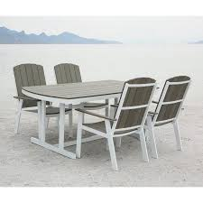 5 piece outdoor dining set. Walker Edison Coastal 5 Piece Outdoor Dining Set